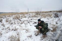 У Счастья подорвался «Урал» с украинскими военными