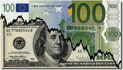 Курс евро на Forex повысился к доллару в среду