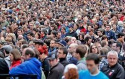 За год население Украины сократилось до 45,4 млн.