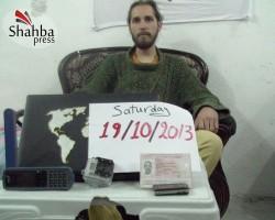 Новое фото похищенного в Сирии Журавлева выложили в Сети