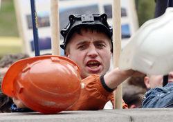 Курс востока Украины определят шахтеры