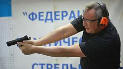 Рогозин прострелил себе ногу во время съемок видеоклипа