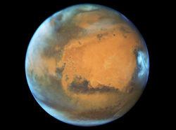 Уфологи нашли обломки инопланетного корабля на Марсе