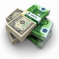 Евро снижается против курса доллара на 0,17% на Форекс перед окончанием заседания ЕЦБ