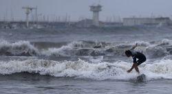 Тайфун «Халон» в Японии: рейсы отменены, жители без света