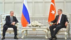 Стало известно, о чем говорили Путин и Эрдоган в Баку