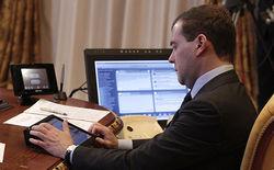 Медведев зашел со своего iPad на заблокированный RuTracker