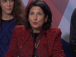 Женщина уверенно победила соратника Саакашвили на выборах в Грузии