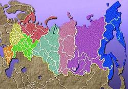СМИ: Война России в Украине закончится переделом самой России