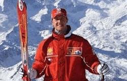 Михаэль Шумахер обожал горные лыжи