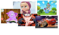 Определены самые популярные в Интернете мультфильмы: Маша и медведь, Лунтик и Наруто