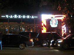 У ресторана шоумена Светлакова в Киеве произошло грандиозное побоище