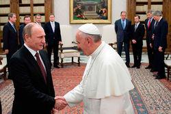 Встреча Путина с Римским Папой укрепила позиции обеих сторон, считают эксперты