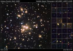 Телескоп Хаббл открыл множество галактик, возрастом с молодую Вселенную