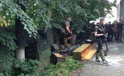 В складе боеприпасов террористов в Славянске обнаружены российские документы