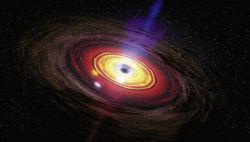 Астрономы зафиксировали сверхмощный взрыв в центре нашей галактики