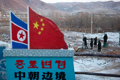 КНР наращивает силы награнице сКНДР