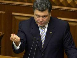 Нельзя, чтобы сотня бандитов диктовала волю миллионам украинцев – Порошенко