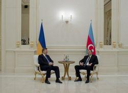 18 ноября встретятся тет-а-тет президенты Украины и Азербайджана