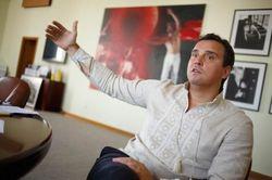 Абромавичус дал первое интервью после заявления о своей отставке