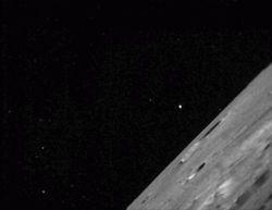 Космический зонд LADEE  отправил свои первые качественные снимки Луны