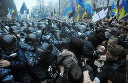 Скорая помощь забрала с Майдана в Киеве 6 человек с непонятными симптомами