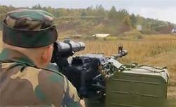Новейший пулемет «Корд» попадает к боевикам исключительно из арсеналов РФ