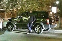 Сын депутата ездил по Киеву на угнанном джипе с военными номерами