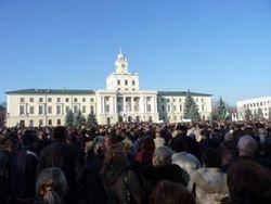 Украина: захвачено здание еще одной обладминистрации в Хмельницком