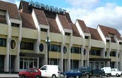 Неизвестные лица в аэропорту Симферополя