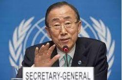 Пан Ги Мун о причинах нецелесообразности ввода войск ООН в Украину