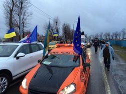 Украина: ГАИ задержала часть активистов Евромайдана, ехавших в Межигорье
