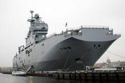 Франция ведет переговоры с Египтом о продаже «Мистралей»