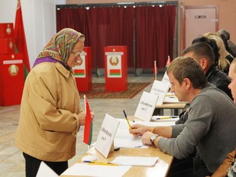 ЦИК: парламент Белоруссии избран вправомочном составе