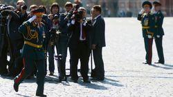 Россия удивлена, почему телеканалы Украины не едут в Москву на Парад Победы