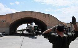 Авиабаза Шайрат в Хомсе