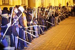 Евромайдан подготовил отряды быстрого реагирования