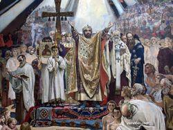 Петр Порошенко поздравил всех с Днем крещения Украины-Руси