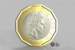 Великобритания выпустит новые монеты номиналом 1 фунт из-за обилия подделок