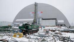 Новый конфайнмент полностью накрыл старый чернобыльский саркофаг