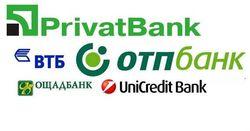 50 популярных банков Украины в июле 2014г.