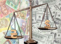 Гривна укрепляется к доллару США