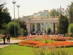 В Алматы реконструируют Центральный парк