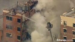 В Нью-Йорке прогремел взрыв: два здания завалены