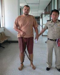 Максим Шинкаренко в тюрьме Таиланда