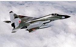 В 30 километрах от Украины появилась эскадрилья МиГ-29 ВВС России
