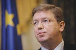 Еврокомиссар Фюле назвал условия спасения Украины
