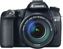 Бренд Canon представил зеркальную фотокамеру EOS 80D