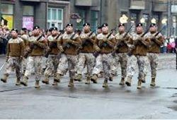 Власти Латвии хотят отправить своих солдат в Ирак