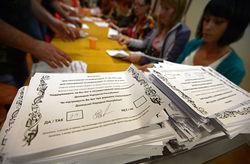 Организаторы референдума переносят объявление официальных итогов на неделю